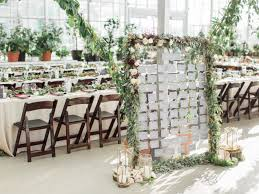 our greenhouse wedding a nightmare turned fairytale