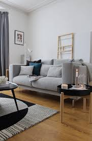 a living room update featuring ikea u0027s nockeby sofa u0026 ypperlig range