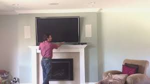 fireplace tv above gas fireplace design ideas luxury and home