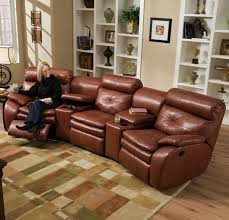 Brown Leather Sectional Sofa by Furniture Glamorous Leather Chesterfield Sectional For Living