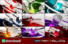 ultimate broadcast news package videohive template free