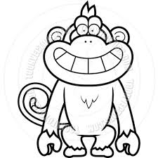 happy halloween clip art black and white monkey clip art black and white clipart panda free clipart images