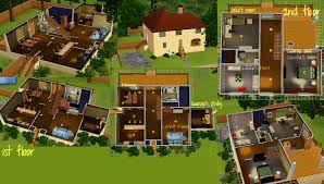 george and claudia u0027s house sims3 by kiki kit on deviantart
