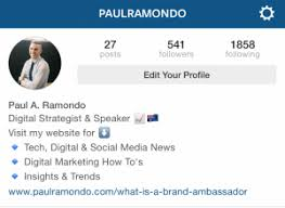 biography for instagram profile a beginners guide to instagram social media marketing blog