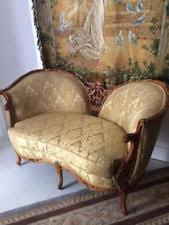 Vintage Settee Loveseat French Settee Sofas U0026 Chaises Ebay