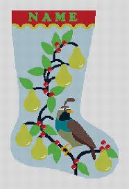 accessories cross stitch initial