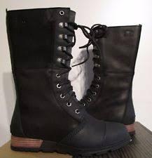 ebay womens sorel boots size 9 sorel leather mid calf s boots ebay