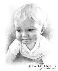 drawn sketch baby boy pencil and in color drawn sketch baby boy