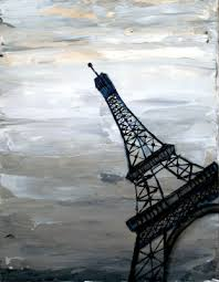 abstract eiffel tower painting holly anderson u2026 ideas for me