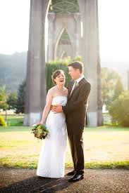 portland wedding photographers gorgeous fall cathedral park wedding photo collection by portland