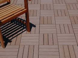 learn about wood composite deck tiles for instant patio decks
