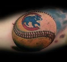chicago cubs baseball tattoos pictures to pin on pinterest