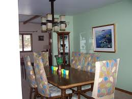 How To Cover Dining Room Chairs With Fabric Dining Room Chic Fabric Covered Dining Room Chairs For Lovable