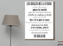 affiche cuisine poster les regles de la maison maison design bahbe com