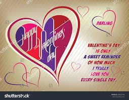 super cool happy valentines day darling stock vector 338553746
