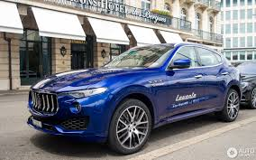 maserati dark blue maserati levante s 24 september 2016 autogespot