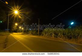 Let Your Light Shine Down Let Your Light Shine Down Fog Encroaching Stock Photo 447135151