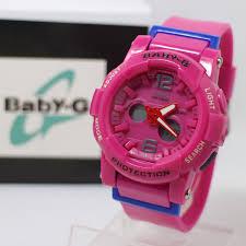 Jam Tangan Baby G Warna Merah jam tangan baby g bga 180 pink kw gudang jam tangan