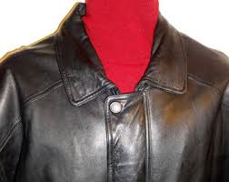 Cowhide Leather Vest Heavy Leather Jacket Etsy
