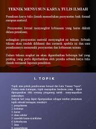 penulisan daftar pustaka nama tiga suku kata teknik penulisan hukum power point
