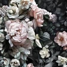dark floral wallpaper by ellie cashman design drive me up the