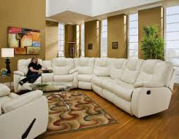 Sectional Sleeper Sofa Recliner Microfiber And Leather Sectional Sleeper Sofa With Chaise And