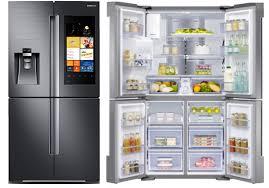 Samsung Cabinet Depth Refrigerator The Samsung Family Hub Refrigerator Reviews Ratings Prices