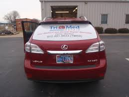 lexus dealer evansville indiana vehicle wrap benefits the signs of business