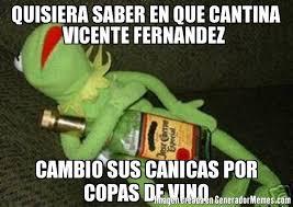 Vicente Fernandez Memes - quisiera saber en que cantina vicente fernandez cambio sus canicas