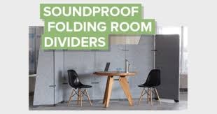 reducing office noise with soundproof folding room dividers kireiusa