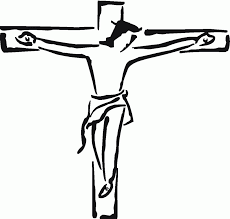 jesus on the cross cartoon clip art library
