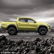 mercedes 4x4 trucks mercedes confirms it will sell an x class truck in 2017