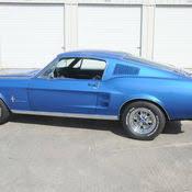1967 blue mustang 1967 gt mustang fastback 427 sideoiler 4 speed acapulco blue