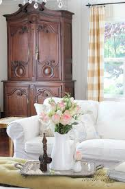 white slipcovers french country cottage white slipcovers