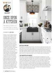 Little Country Kitchen by Reno U0026 Decor Magazine Apr May 2017 By Homes Publishing Group Issuu