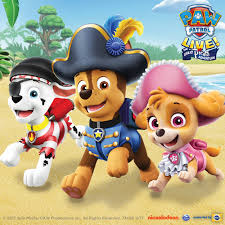 paw patrol live pirate adventure andrew jackson hall