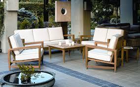 Teak Patio Furniture Modern Teak Outdoor Furniture Decorating Front Yard