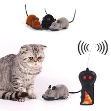 cat toys remote control simulation fun mouse various colors