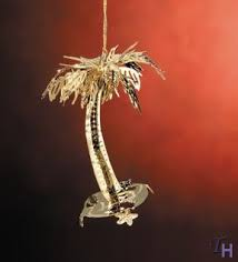 palm tree ornament by baldwin