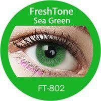 sea green colored contact lenses freshtone green contact