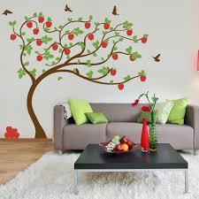 nursery decoration apple tree wall design nursery