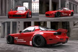 mad mike rx7 rocket bunny rx7 u2013 speed u0026 style