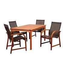 Tahoe 5 Piece Patio Dining Set - martha stewart living patio dining furniture patio furniture