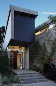 Exterior Home Design Los Angeles 37 Best Exteriors Narrow House Images On Pinterest