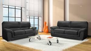 canapé 3 places en cuir pas cher