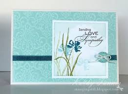 175 best sympathy stin up cards images on sympathy
