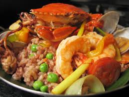 cuisine philippine diket paella heirloom rice from the philippine terraces