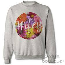 wifey floral top sweater jumper sweatshirt shop womens wedding