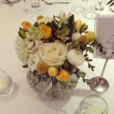 beautifully covered centrepieces and table decor