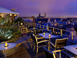 The United Nations Dining Room And Rooftop Patio Holiday Inn Paris Notre Dame Hotel By Ihg